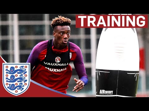 Shooting Drills with Rashford, Vardy and Abraham Vs Joe Hart | Inside Training