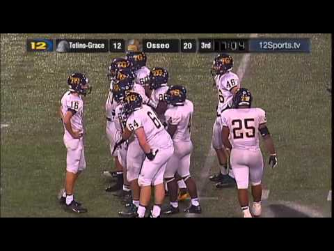 Totino-Grace vs. Osseo MN State 6A High School Football