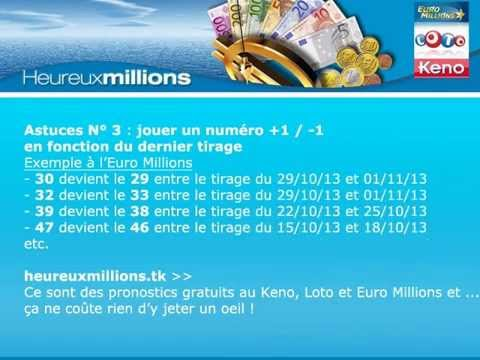 comment gagner 4 numeros keno
