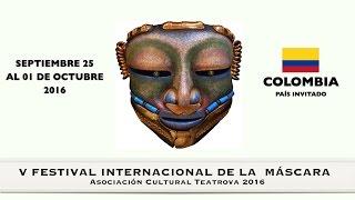 Momentos del V Festival Internacional de la máscara en Teatrova