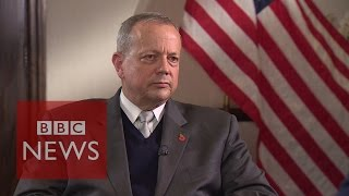 'Strikes on Islamic State working' says General John Allen - BBC News