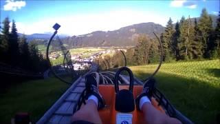Flachau Austria  city images : Austria Flachau toboggan/rodelbaan