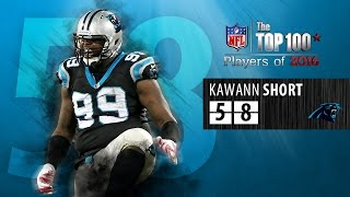 #58: Kawaan Short (DT, Panthers) | Top 100 NFL Players of 2016 by NFL