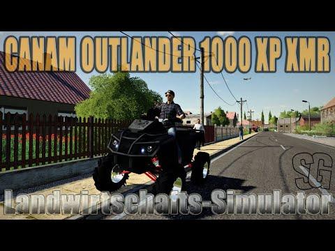 CanAm Outlander 1000 XP XMR Lifted v1.0