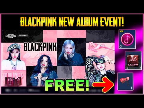 BlackPink New Album Event In Pubg Mobile || Halloween All Event List || Get Free Popularity (Hindi)