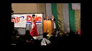 Merced Hmong New Year Miss Hmong Central Valley Pageant Evening Gown 2015