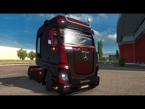 Mercedes Actros MP4 *Mega Mod* + Cabin DLC