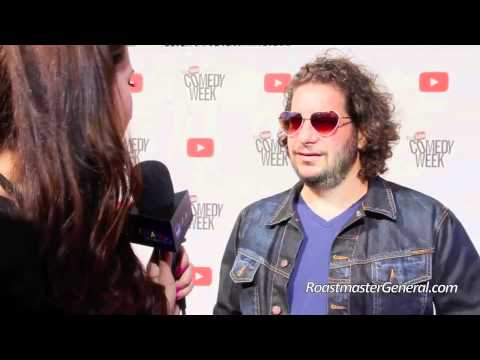 Jeff Ross, Roastmaster General, YouTube Comedy Week, RealTVfreaks