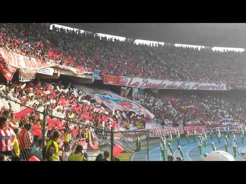 Salida - FRBS La Banda Del Tiburon LBK - Junior 0-1 monaco - Frente Rojiblanco Sur - Junior de Barranquilla