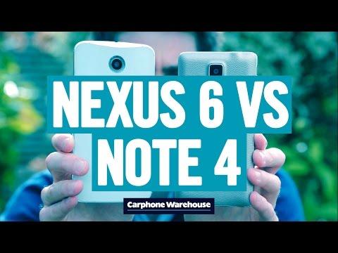 Видео сравнява Nexus 6 с Galaxy Note 4