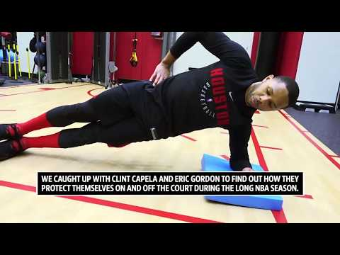 Eric Gordon & Clint Capela | Staying Fit during NBA Season