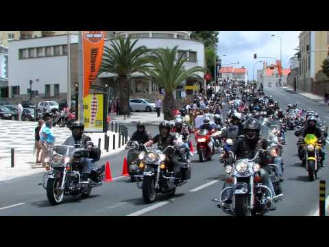 Harley Davidson Owners Group - Parade - Cascais- Portugal 2012