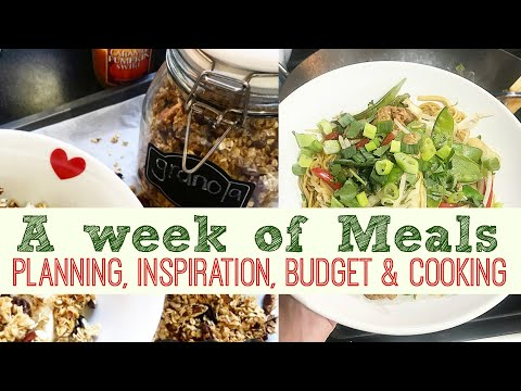 2 Week Diet - WHAT WE EAT IN A WEEK  Meal Planning, Inspiration & Budget  Motivation Monday