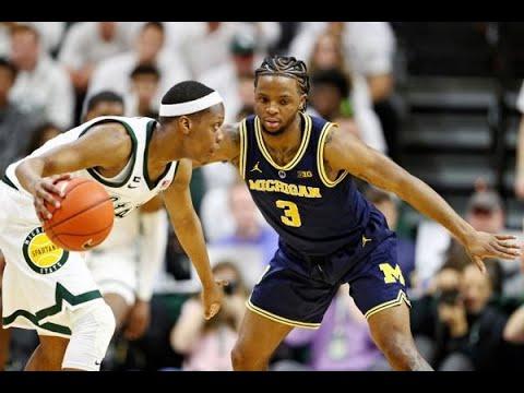Michigan vs Michigan State | Final Minutes | Big Ten Tournament