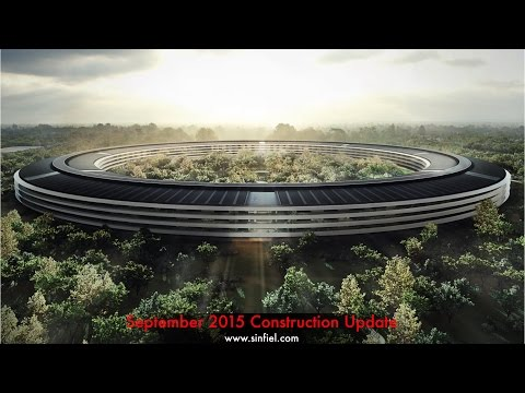 Watch Apple s Campus 2 Begin to Take Shape