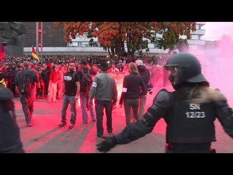 Chemnitz: Chaos - Krawalle bei Kundgebungen - minde ...