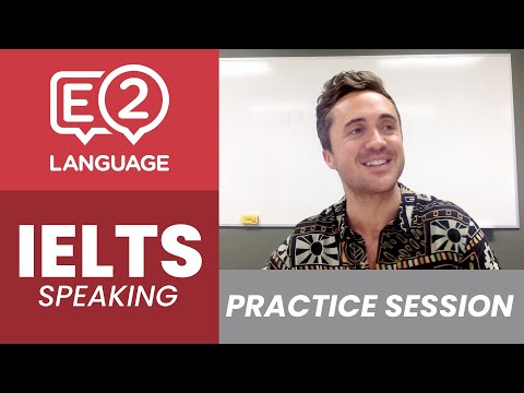IELTS Speaking Practice Session with Jay!