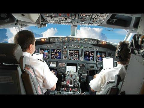ВЗЛЕТ и ПОСАДКА глазами пилота самолета. ЗРЕЛИЩНЫЙ ролик. (видео)