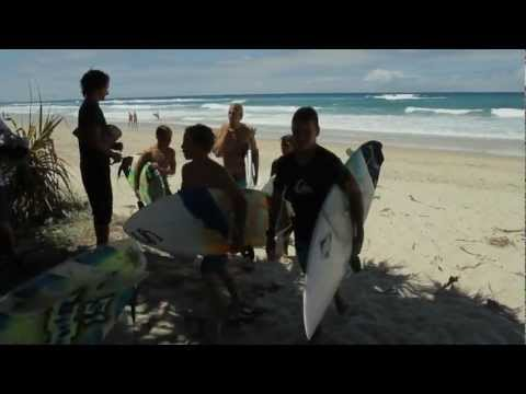 Owen Wright And Tyler Wright Surfing Australia Pro Surfer Camp
