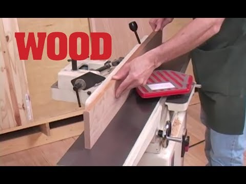 Preparing Project Lumber with a Jointer and Planer -- WOOD Magazine