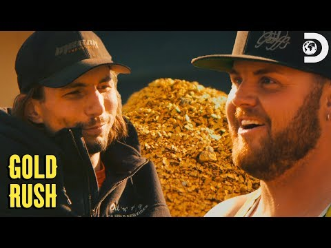 Parker's Massive First Payout! | Gold Rush
