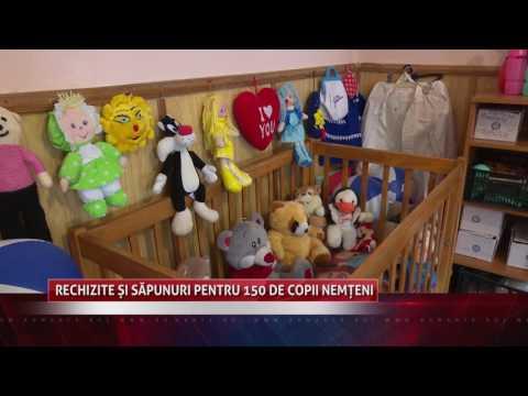 Rechizite și săpunuri pentru 150 de copii nemțeni
