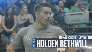 Update Show host Sean Woodland catches up with the sixth-place finisher at the 2017 California Regional, Holden Rethwill. Rethwill reflects on his surprise at learning he would be heading to the CrossFit Games and describes how he trained to get there.The CrossFit Games -- (http://games.crossfit.com)The CrossFit Games® - The Sport of Fitness™The Fittest On Earth™