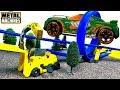 METAL MACHINES CONSTRUCCION DESTRUCCION VUELTAS 360 GRADOS Y SALTOS