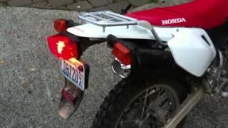 10. Honda CRF230L Billet Exhaust Tip