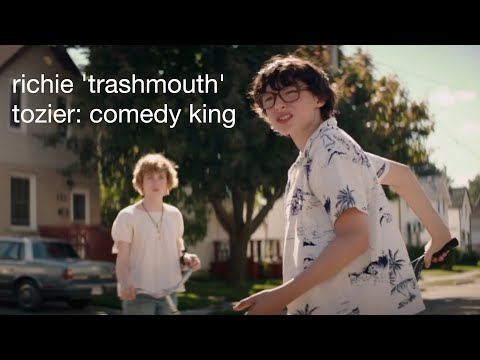 richie 'trashmouth' tozier: comedy king
