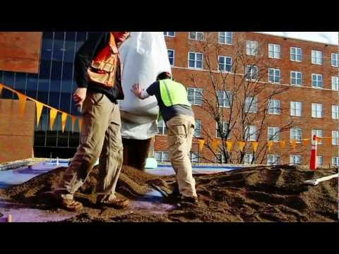 Hamilton County Health Dept. – green roof installation