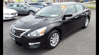 1. 2014 Nissan Altima 2.5S Walkaround, Start up, Tour and Overview