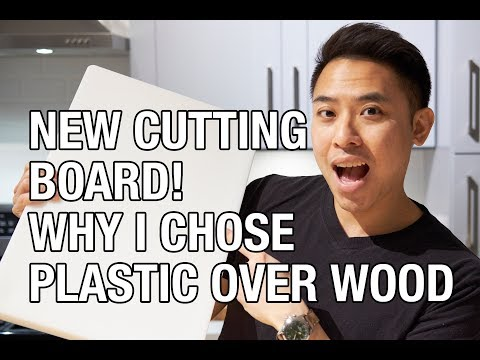 Why I Chose A Plastic Cutting Board Over Wood