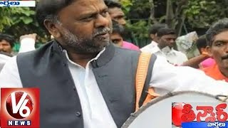 karnataka minister h anjaneya hot comments on national bjp teenmaar news