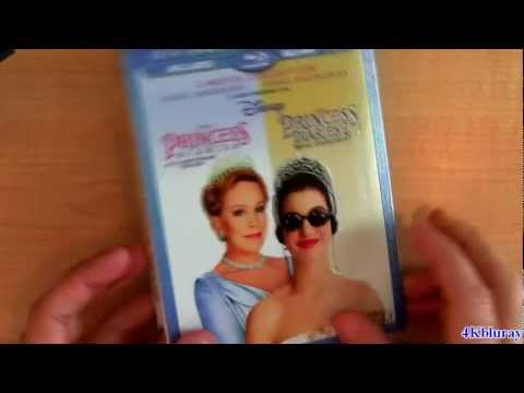 The Princess Diaries Blu-ray Unboxing Review 10th Anniversary Disney