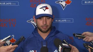 Marco Estrada talks about the Tampa Bay Rays success against him.