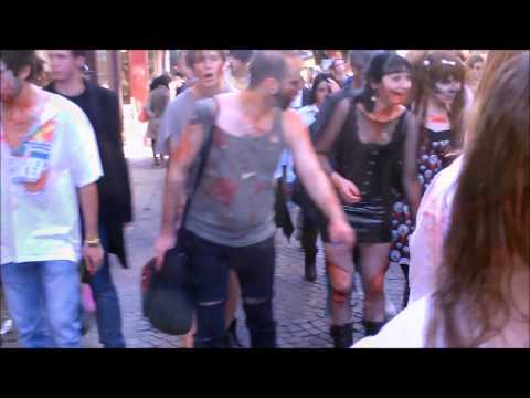 Zombie Walk a Rouen
