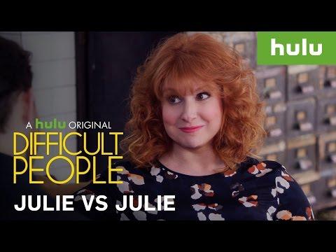 Julie VS Julie • Difficult People on Hulu