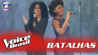 Kassia Marvila e Mylena Jardim cantam 'Killing Me Softly' nas Batalhas – 'The Voice Brasil'