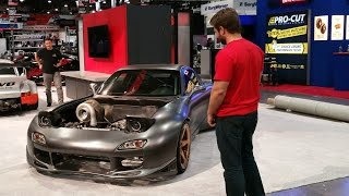 Unveiling the World's First AWD 4 Rotor RX-7 by Rob Dahm
