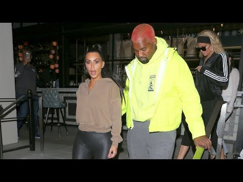 Kim Kardashian And The Family Party In Hollywood After Wildfire Evacuation