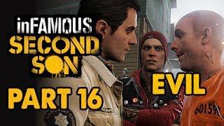 inFamous: Second Son Evil Walkthrough Part 16 - Quid Pro Quo - Evil&Expert Playthrough