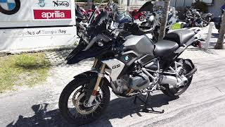 1. 2019 BMW R 1250 GS in Black Storm Metallic at Euro Cycles of Tampa Bay