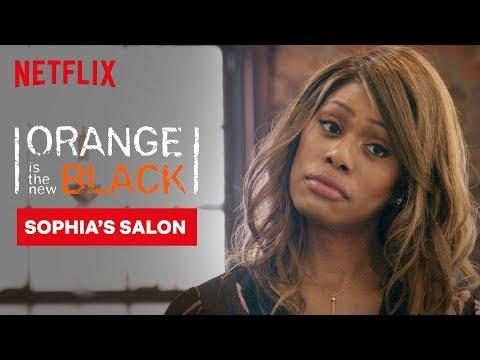 Sophia Does Piper's Hair | Orange Is the New Black | Netflix