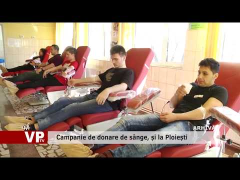 Campanie de donare de sânge, și la Ploiești