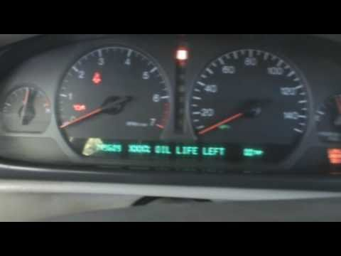 How To Reset the Oil Life Indicator on a 1994-99 Cadillac Deville Concours