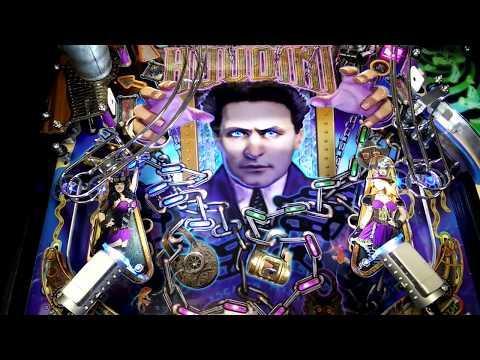 Houdini Pinball Machine Gameplay and Features   American Pinball