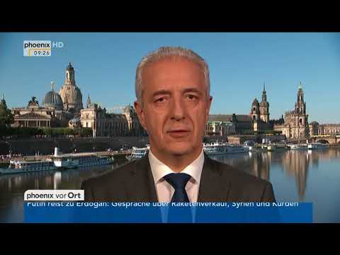 Bundestagswahl: Stanislaw Tillich im Tagesgespräch am 2 ...