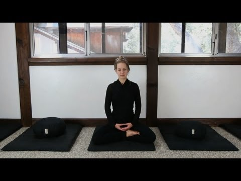 Zen Meditation (Zazen) Instruction