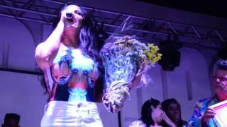 Viviane Araújo é homenageada no Estrela do Carnaval 2017